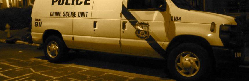 Police Crime Scene Unit, W Rockland Street shooting