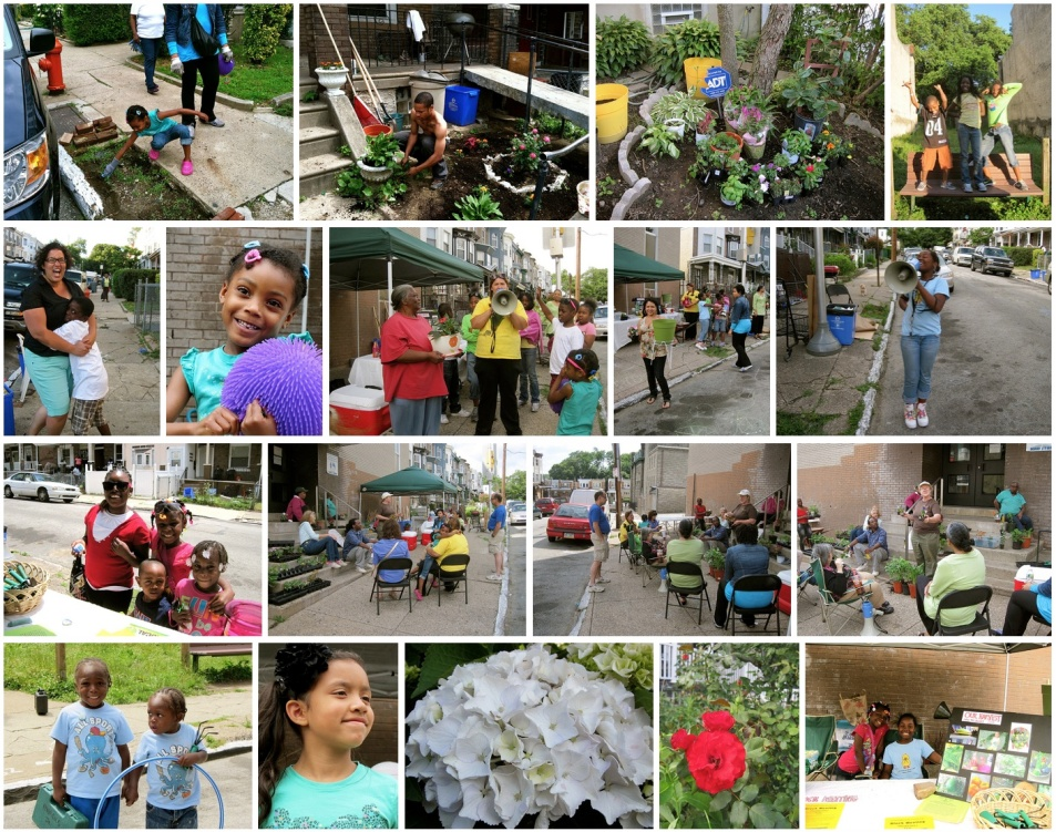 Sweat equity. Grow This Block! 2012 was a huge success. See more photos here.