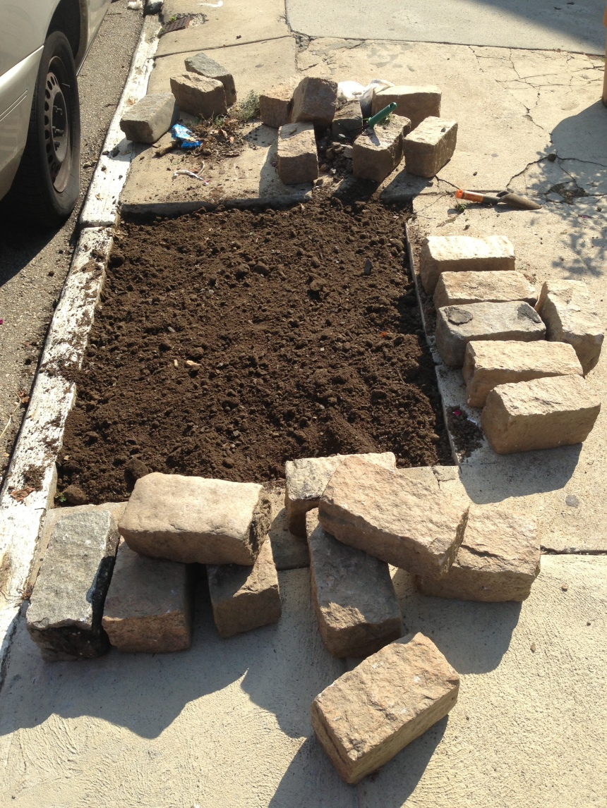 Cobblestones rescued from Germantown Avenue construction