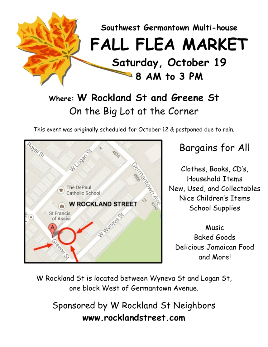 Flea Market Flyer