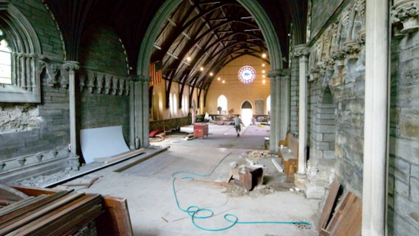 Inside St. Peter's (Bas Slabbers for NewsWorks)