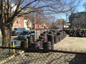 Tires at 4800 Germantown Avenue in April 2014