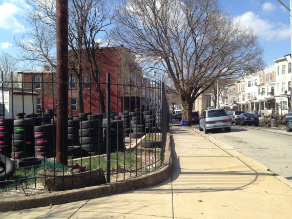 Tires at 4800 Germantown Avenue in April 2014