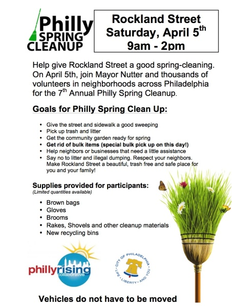 Rockland Street Clean Up