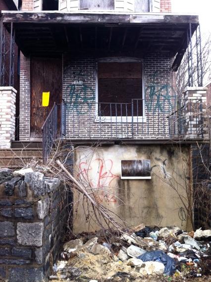 4815 Greene Street up-close.